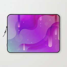 ABSTRACT SCIENCE TECHNOLOGY DESIGN Laptop Sleeve