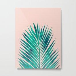 Composition tropical leaves VIII Metal Print