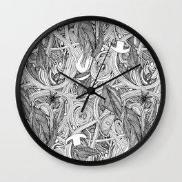 PHO BW Wall Clock