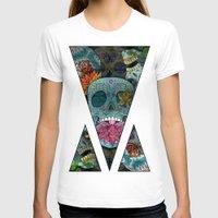 sugar skulls T-shirts featuring Sugar Skulls Art by Spooky Dooky