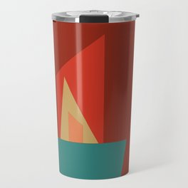 Little Boxes 2, Geometric Shapes Travel Mug