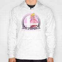 super smash bros Hoodies featuring Peach - Super Smash Bros. by Donkey Inferno
