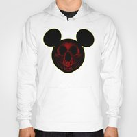 mickey Hoodies featuring Mickey by nicebleed