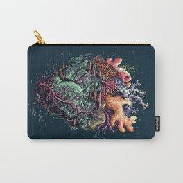 Poseidon's Heart Carry-All Pouch