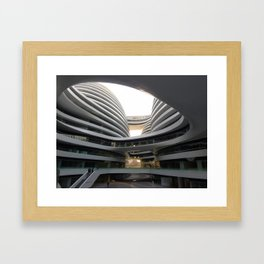 Zaha H A D I D | architect | Galaxy Soho, Beijing Framed Art Print