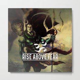 RISE ABOVE Metal Print