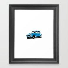 Renault 4L Framed Art Print