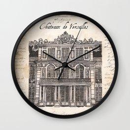Chateaux de Versailles Wall Clock
