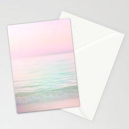 Dreamy Pastel Seascape #buyart #pastelvibes #Society6 Stationery Cards