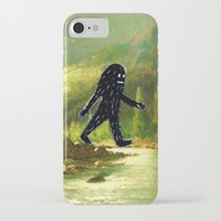 sasquatch iPhone & iPod Cases featuring Sasquatch by Andy Detskas