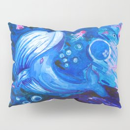 Music of the ocean Pillow Sham