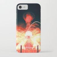 ufo iPhone & iPod Cases featuring UFO by Teodora Roşca
