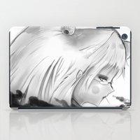 kitsune iPad Cases featuring Kitsune by Alterant