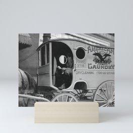 Laundry Delivery Boy - Birmingham 1914 Mini Art Print
