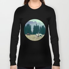 Cows and Mountains Long Sleeve T-shirt