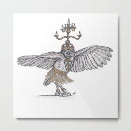 Tiny Dancer - Shamadan Owl Metal Print
