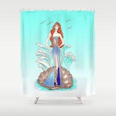 Venus Dress Shower Curtain