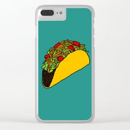Flock of Gerrys - Taco Clear iPhone Case