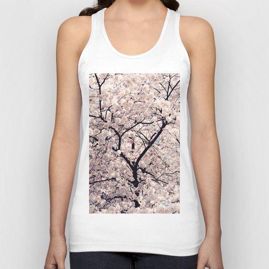 Cherry Blossom * Unisex Tank Top