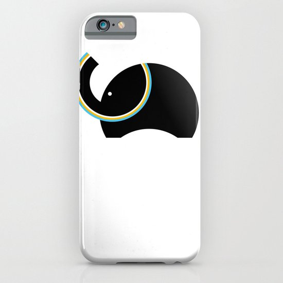 Retro Elephant iPhone & iPod Case