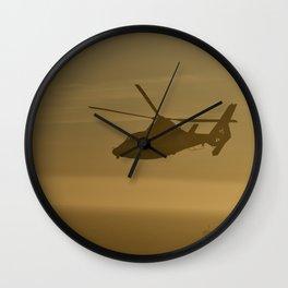 Coast Guard Power Wall Clock