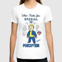 fallout 3 T-shirts featuring PerceptionS.P.E.C.I.A.L. Fallout 4 by sgrunfo