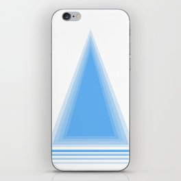 Blue iPhone Skin