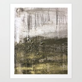 SILVER POOL Art Print