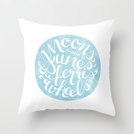 Moons & Junes Throw Pillow