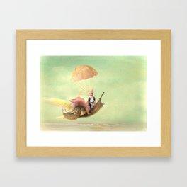 Cedric and the Golden Snail Framed Art Print
