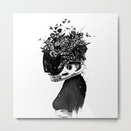 Hybrid girl Metal Print