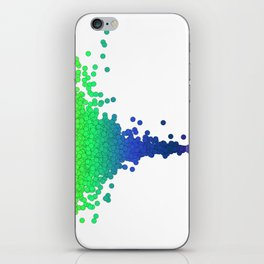Rainbow Volcano Coral Genes iPhone Skin