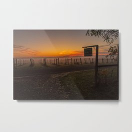 A Fairfield morning Metal Print