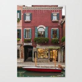 Murano Venice Italy Canvas Print