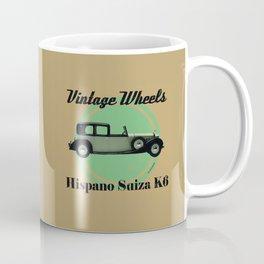Vintage Wheels - Hispano Suiza K6 Coffee Mug