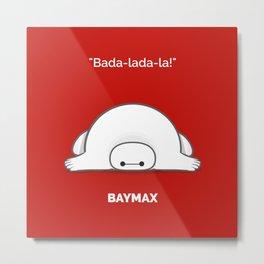 baymax Metal Print