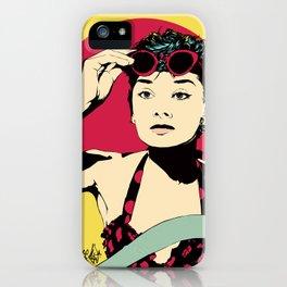 Audrey iPhone Case