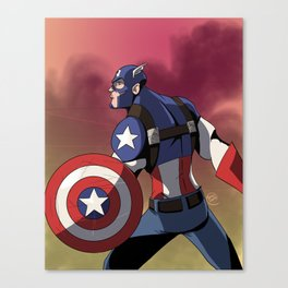 The Captain of America Canvas Print