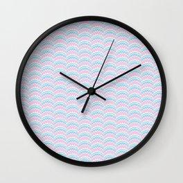 Marbling Comb - Baby Wall Clock