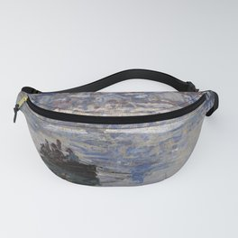 Vétheuil in Winter Fanny Pack