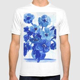 blue stillife T-shirt