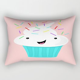 Happiness Is Sprinkles On Your Cupcake Rectangular Pillow