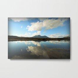 Mt. Konocti Reflects On Clear Lake Metal Print