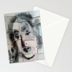 BRICKED VENUSIAN FACE Stationery Cards