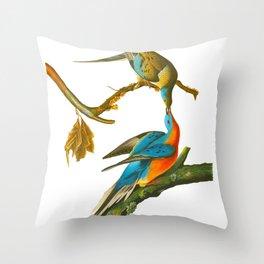 Passenger Pigeon Throw Pillow