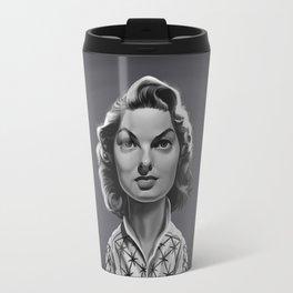 Ingrid Bergman Travel Mug