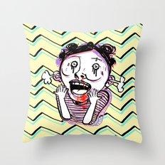 So Excite Throw Pillow