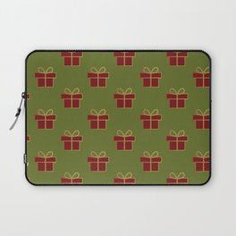 Christmas gifts - green and red Laptop Sleeve