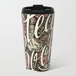 Rain, Tea & Books - Color version Travel Mug