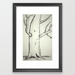 Sally's Tree Framed Art Print